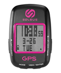 """Soleus GPS Draft Black/Pink Brand New Includes One Year Warranty, The Soleus GPS Draft is a GPS based cycling computer for performance-driven cyclists"
