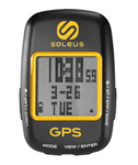 Soleus Gps Draft Black/yellow Gps Cycling Computer