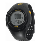Soleus GPS Fit 1.0 Black/Yellow GPS Enabled Sports Watch