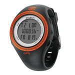 Soleus GPS 2.0 Black/Orange GPS Enabled Sports Watch