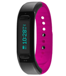 Soleus Go Fitness Band Black / Pink Activity Tracker